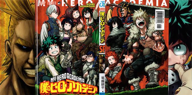 My Hero Academia, Weekly Shonen Jump, Shueisha, Manga, Actu Manga,