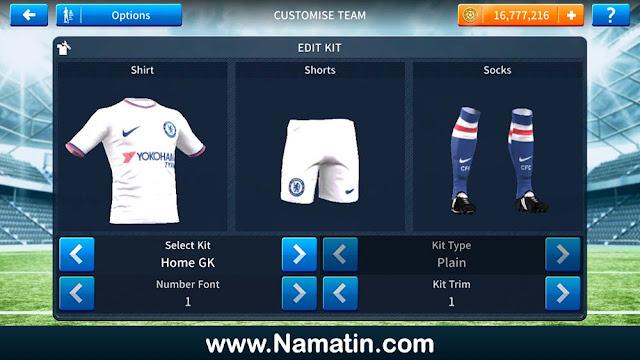 Baju DLS Chelsea