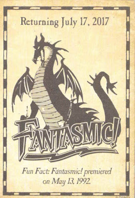 Fantasmic Return Disneyland Trading Card