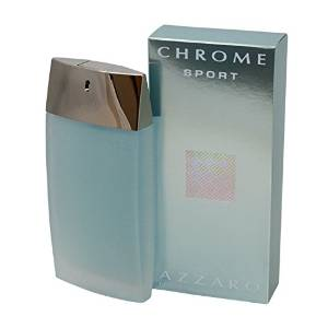 Chrome Sport for Men Eau-de-toilette Spray by Loris Azzaro, 3.4-Ounce