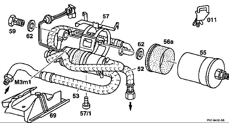 Mercedes C180: Блог автовладельцев: Ремонт Топливного фильтра