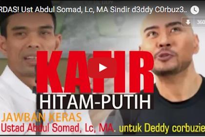 Wow Viral! CERDAS! Ust Abdul Somad, Lc, MA Soal Deddy Corbuzier di Hitam Putih  [Video]
