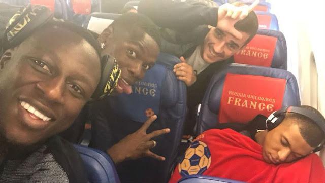 Piala Dunia 2018 : Jelang Prancis vs Belgia, Mbappe Dikerjai Rekannya