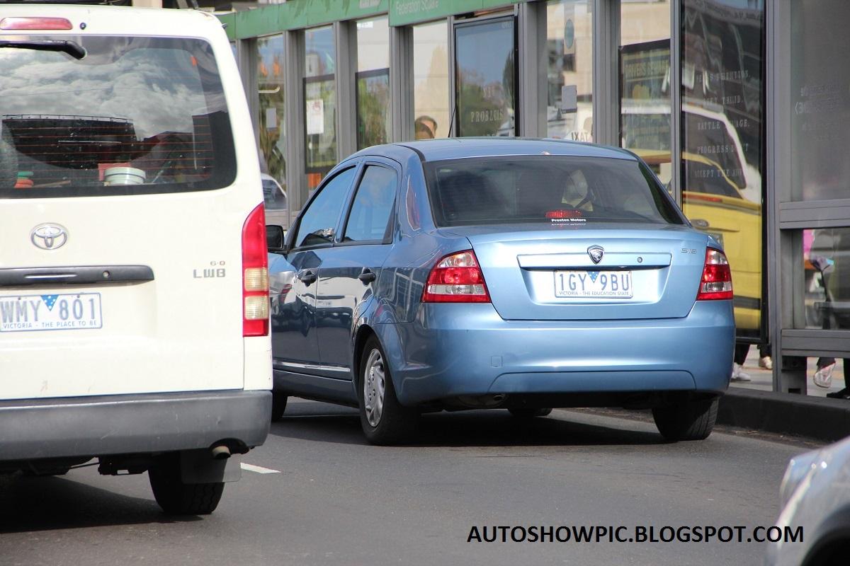 Proton Saga in Australia as Proton S16