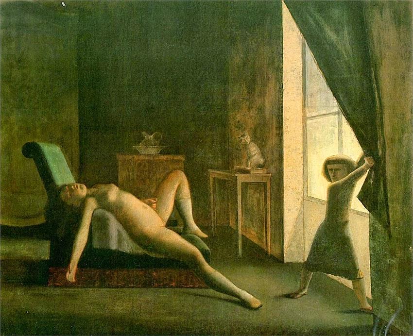 No Quarto - Balthus e sua fixação por garotas e gatos ~ Pintor francês