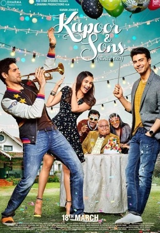 Kapoor and Sons 2016 Hindi 480p BluRay – 400mb