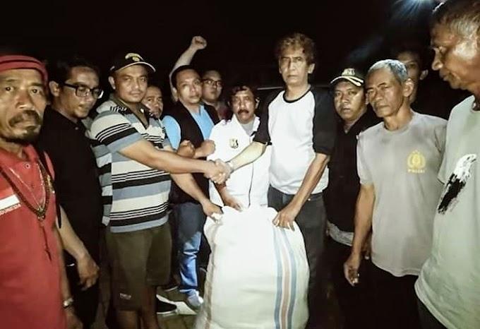 Kp Pani,is Taman Jaya Kec: Sumur  Akibat Tsunami Gelap Gulita 'Warga Berharap Bupati Pandeglang Kepada Pihak Terkait Perbaiki Lampu Penerangan