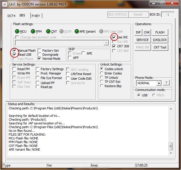 GKtips: Jaf Nokia Flash Tool