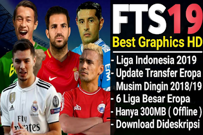Download FTS 19 Mod Terbaru Liga Shopee Indonesia Apk + Data 2019