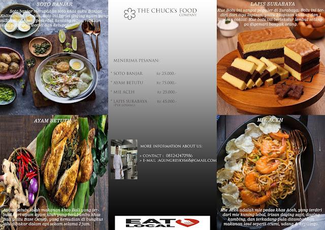Aneka Makanan Nusantara Baked Artisant