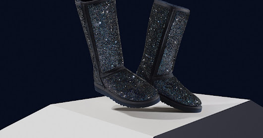WOW - The new 4000 dollar Crystal Rocks UGG boots
