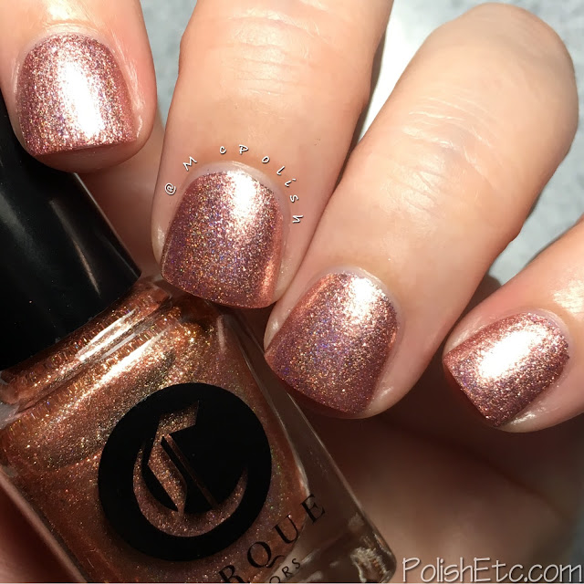 Cirque Colors Himalayan Pink and Born Pretty Store Gems - McPolish