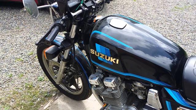 Suzuki GSX1100 Review