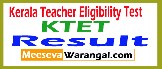 Kearala TET (KTET) Result 2017 Download