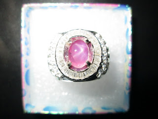batu pink safir ster