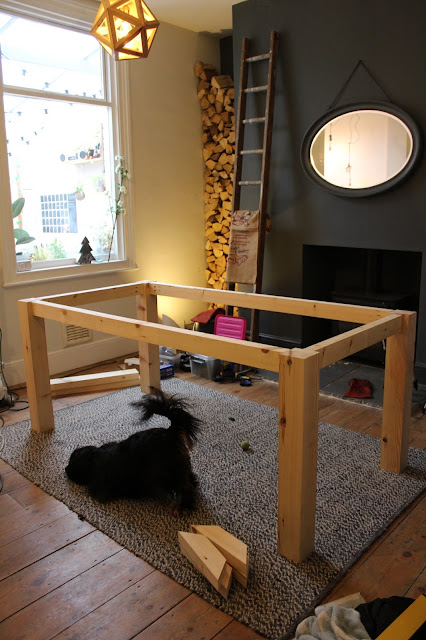 DIY Table Frame How To