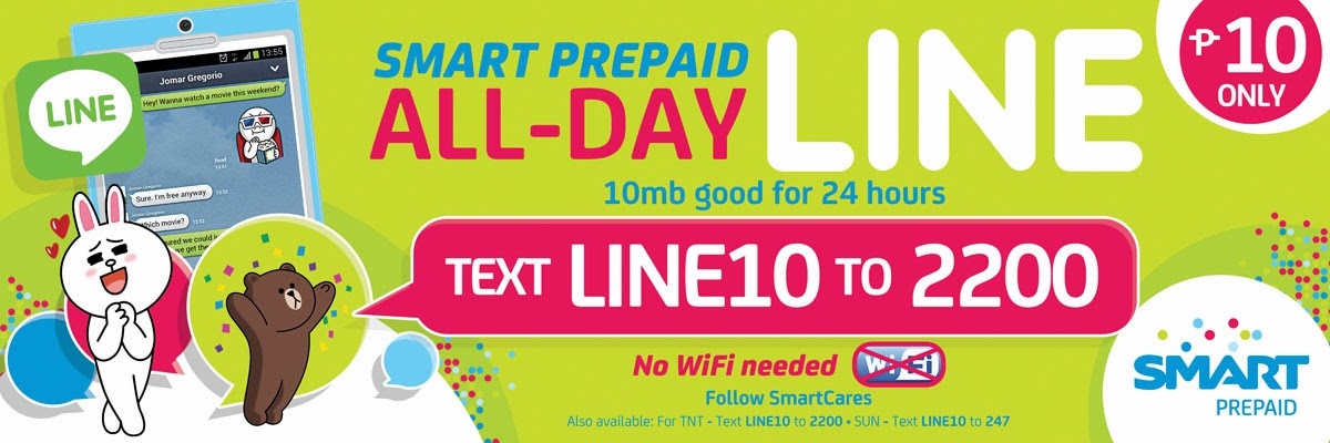Smart Prepaid All-day LINE