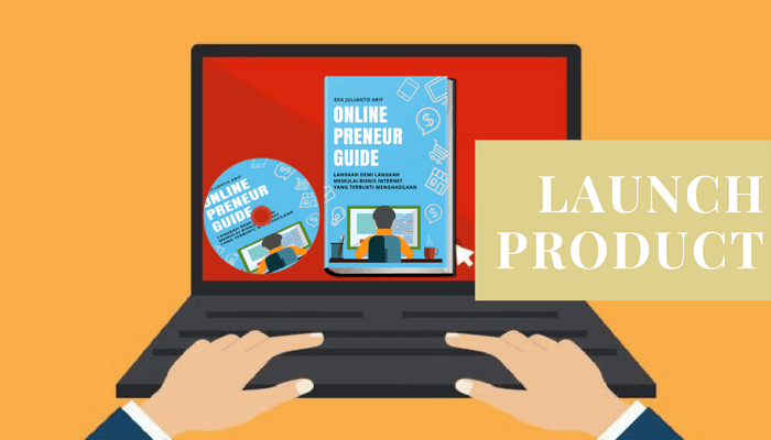 Launching Product Digital OnlinePreneur Guide
