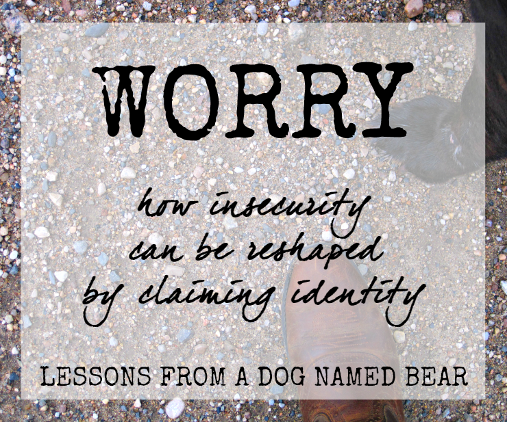 Christian devotion worry worrying anxiety
