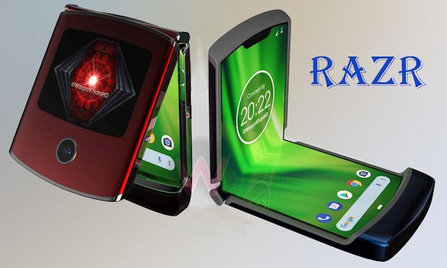 شاهد بلفيديو هاتف موتورولا RAZR القابل لطي و لفيديو دعائي مسروق