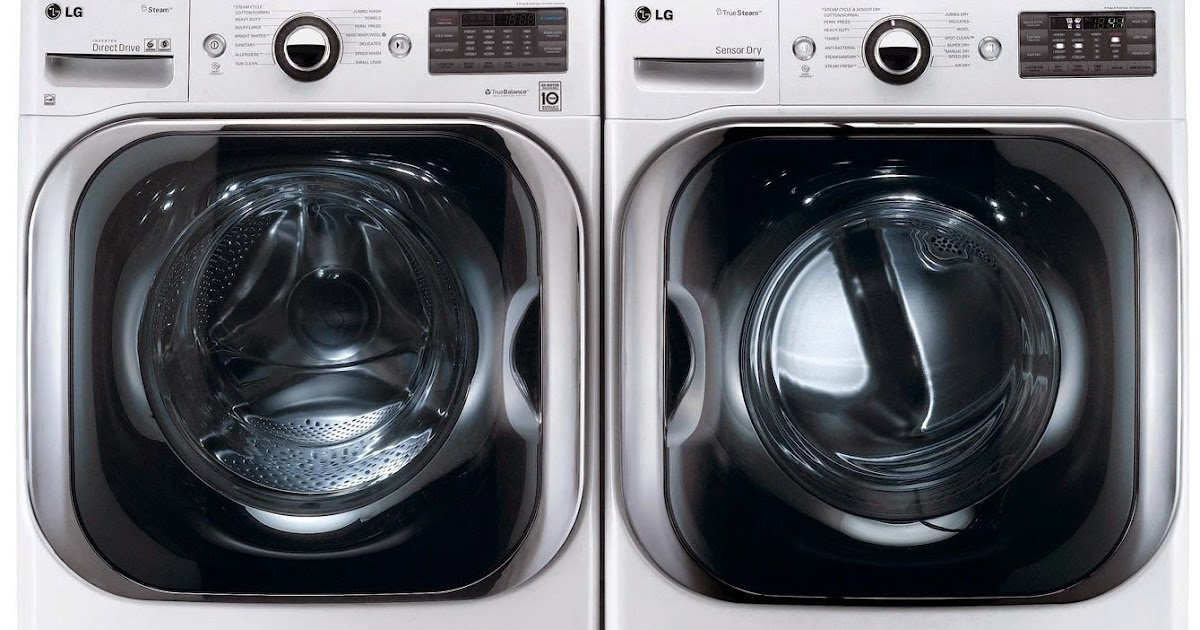Lg Washer And Dryer Lg Stackable Washer And Dryer