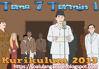 Soal PTS Kelas 5 Tema 7 Semester 2 Kurikulum 2013