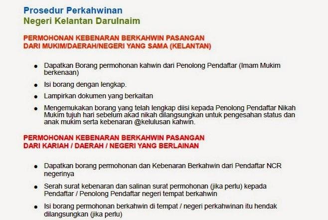 Desain Pernikahan Prosedur Pernikahan Di Kelantan