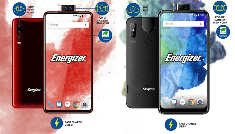 Energizer Ultimate U620S Pop and U630S Pop