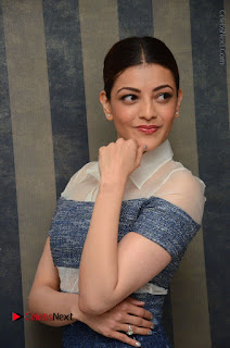 Actress Kajal Agarwal Latest Stills at Khaidi No 150 Movie Interview  0058.JPG