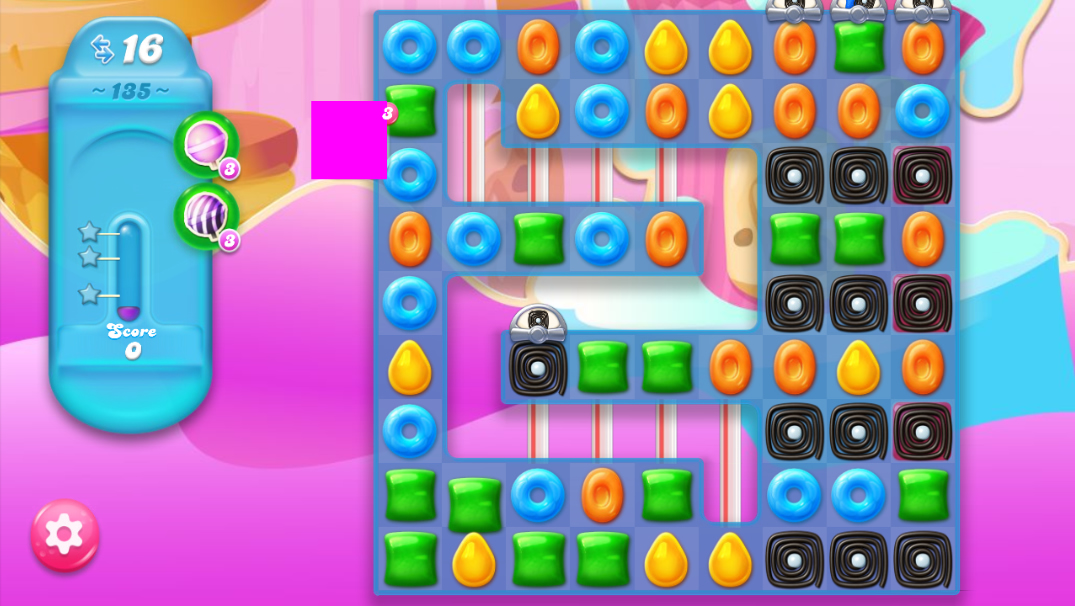 Candy Crush Jelly Saga saga 135