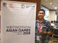 Keseruan di Hari Pertama Writingthon Asian Games 2018