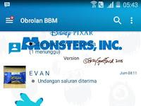 BBM MOD Monster Inc V3.0.0.18 Terbaru