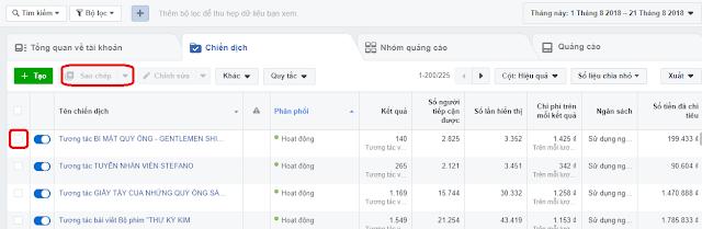Cách Tạo Nhanh Quảng Cáo Facebook Bằng Chức Năng Copy 2