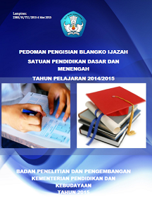 junkis penulisan ijazah tahun pelajaran 2014 / 2014
