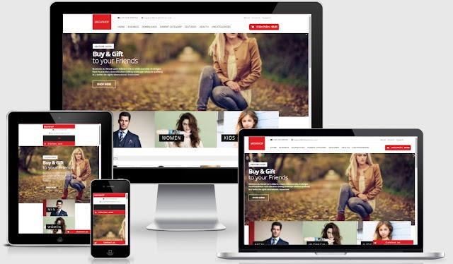 Share template blogspot bán hàng miễn phí