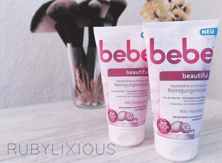 bebe, bebeautiful, cleansing mask, review