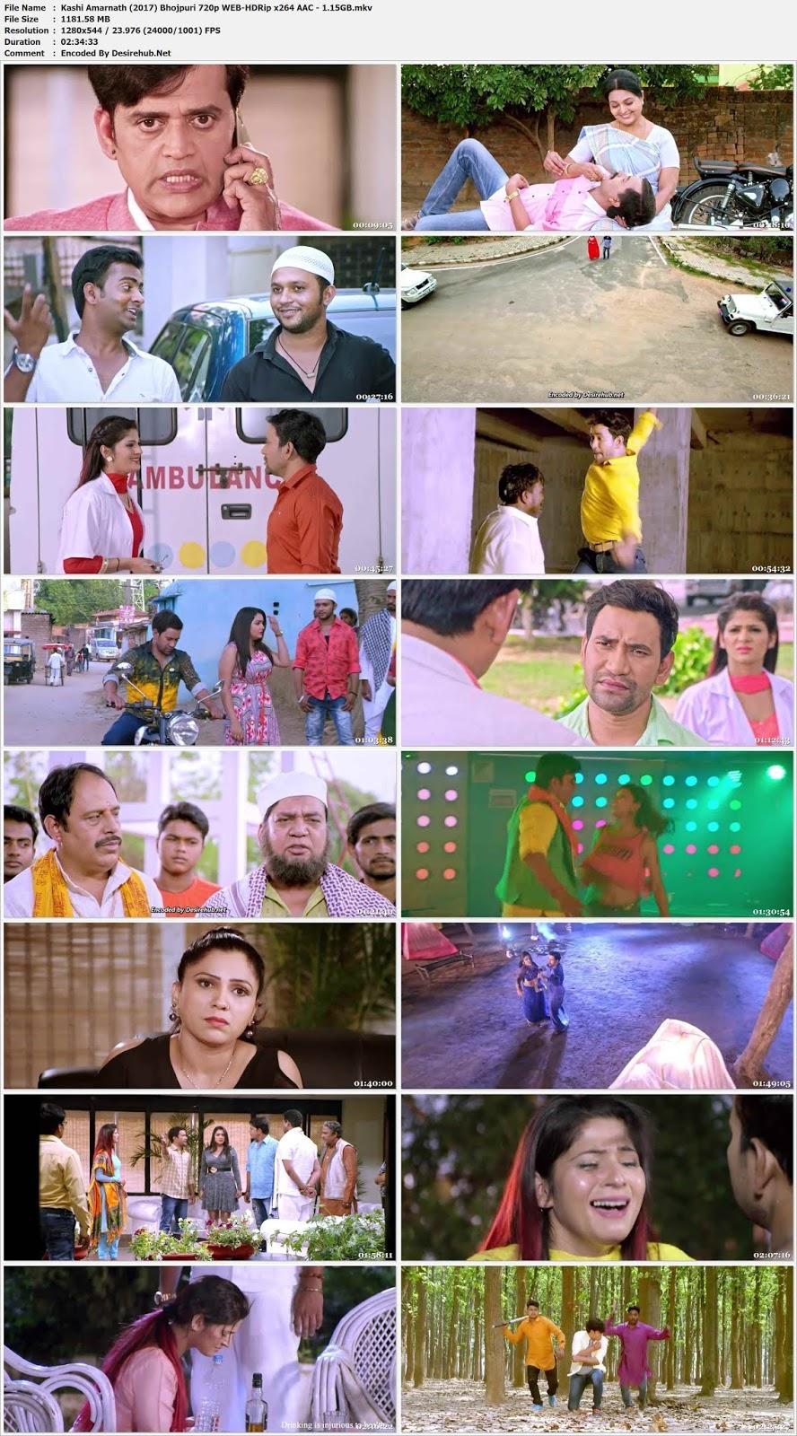 Kaashi Amarnath (2017) Bhojpuri 720p WEB-HDRip x264 AAC – 1.15GB Desirehub