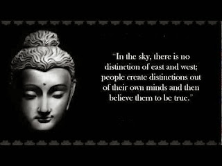 Buddha inspirational thoughts on people and mind
