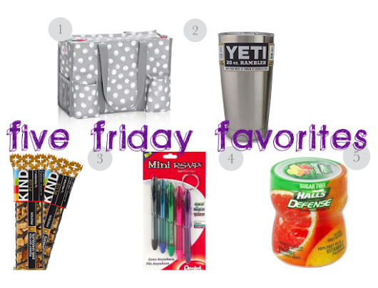 Teacher Back to School Friday Faves