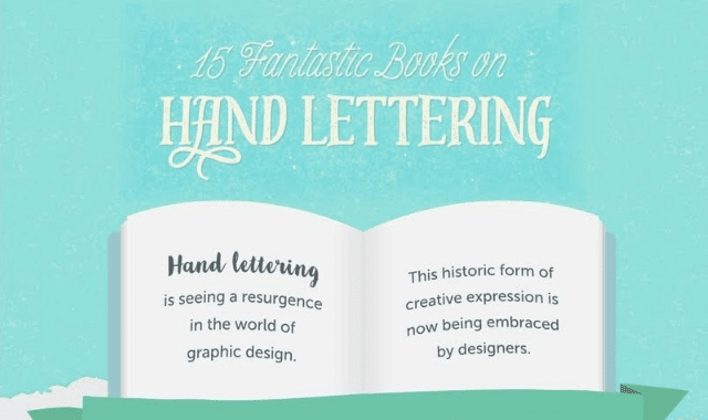 15 Fantastic Books On Hand Lettering