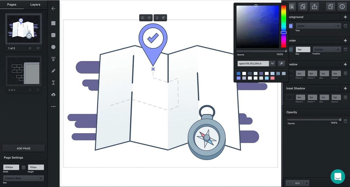 Aplikasi Pengganti CorelDRAW Illustrator - Vectr