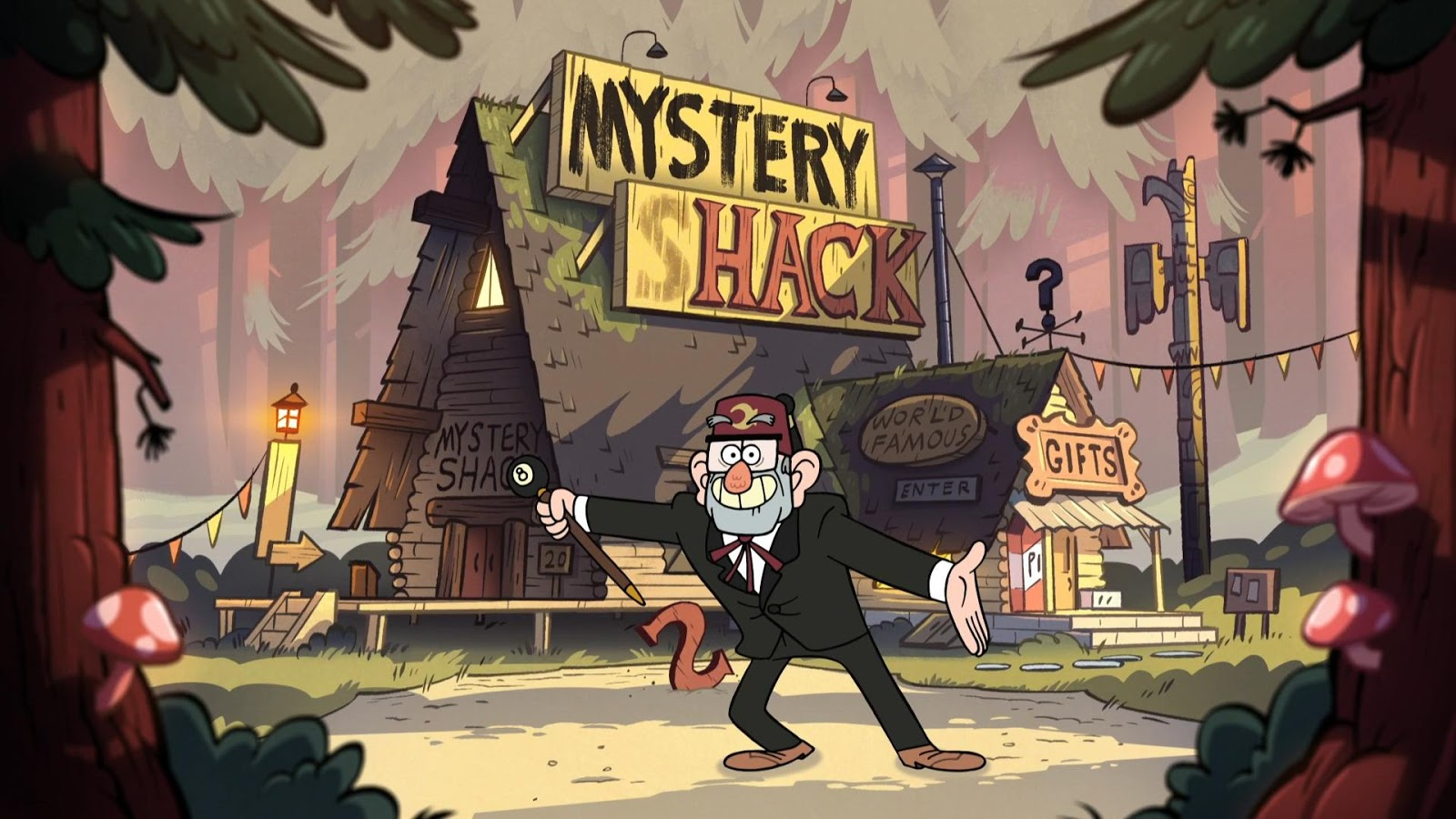 50+ HD 4K Gravity Falls Wallpapers 1080p For Desktop (2019