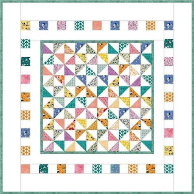 precious bundle baby quilt illustration