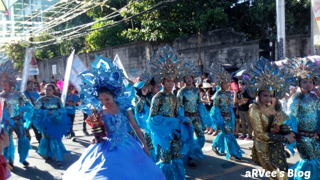 one of the contingents of Sinulog Festival