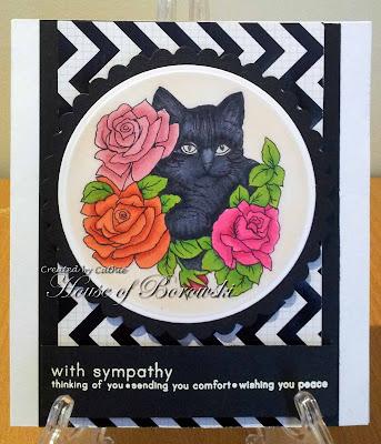 Morgan Fitzsimons Cat with Flowers
