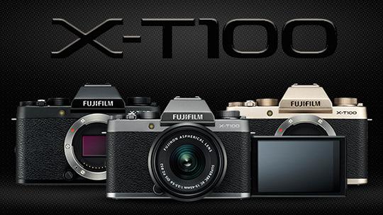 Три камеры Fujifilm X-T100