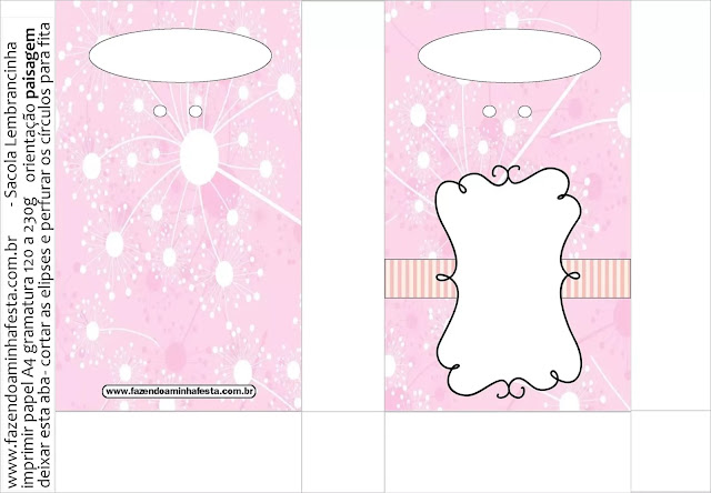 Art in Pink Quinceañera Party Free Printable Boxes