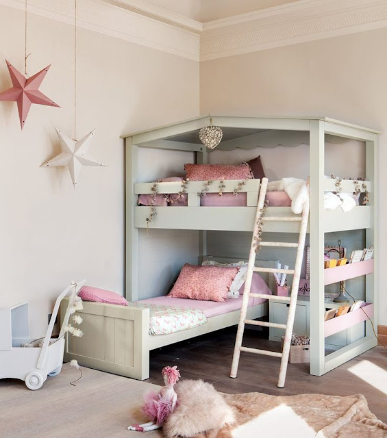 DECORACIÓN DORMITORIO - 50 IDEAS PARA DORMITORIOS COMPARTIDOS