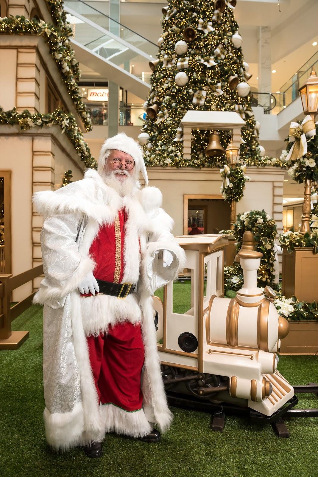 Taguatinga Shopping desperta a magia do Natal com um espetáculo surpresa