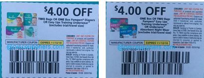 save $4.00 off pampers